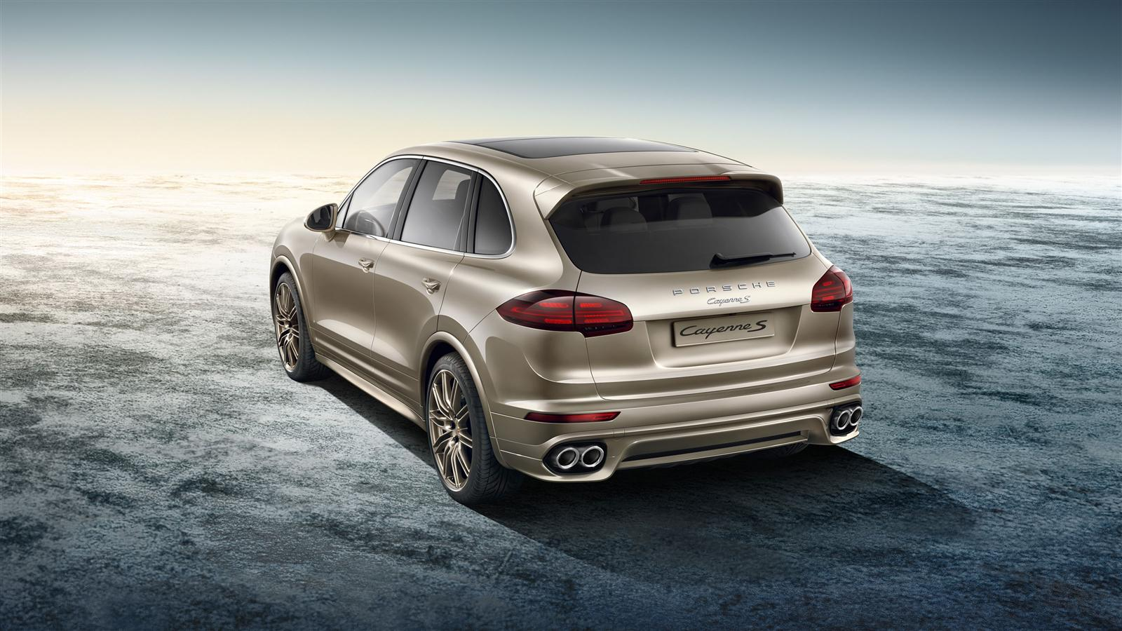 Exclusive Cayenne S