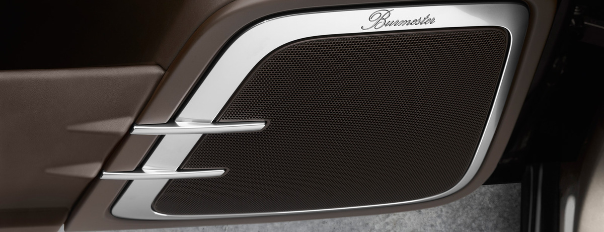 Аудіосистема Burmester® High-End Surround Sound