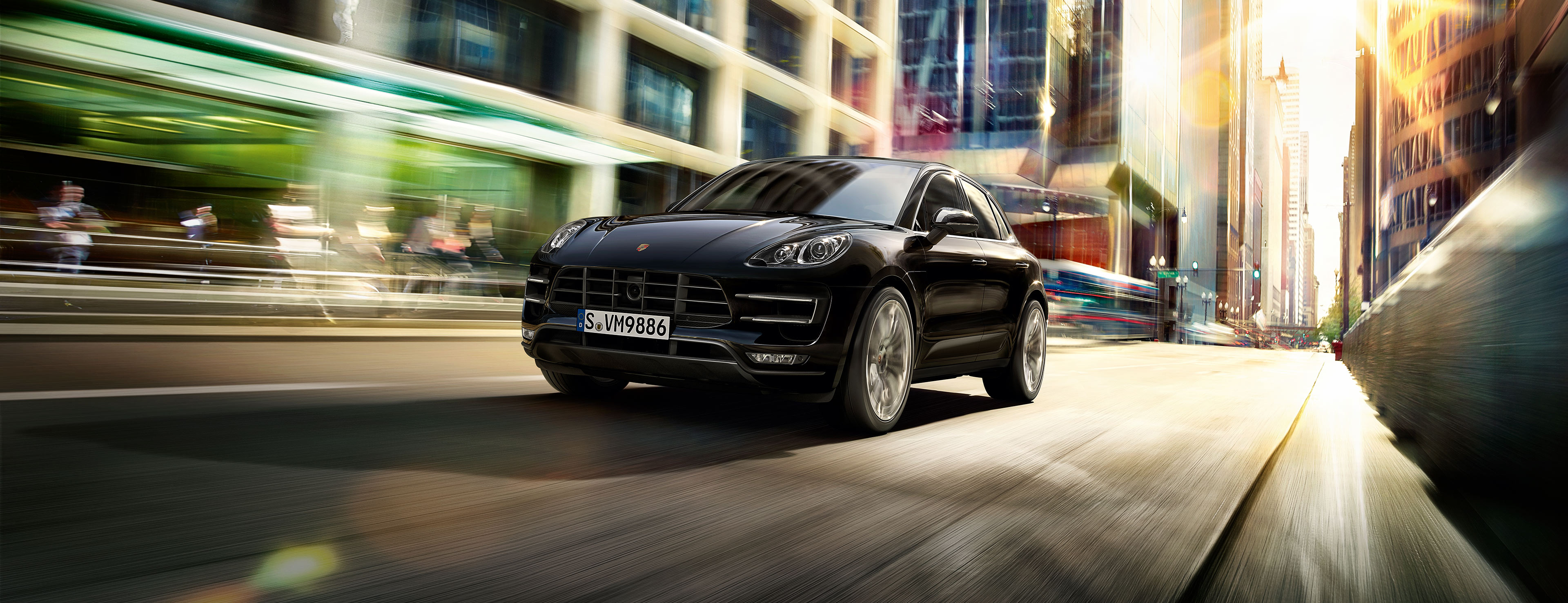 Моделі Macan Turbo