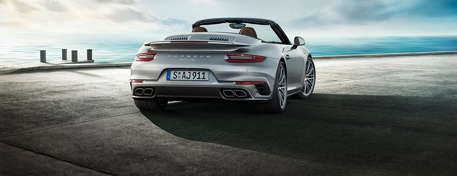 Новий 911 Turbo Cabriolet