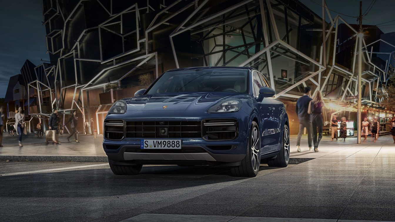 Новий Cayenne Turbo